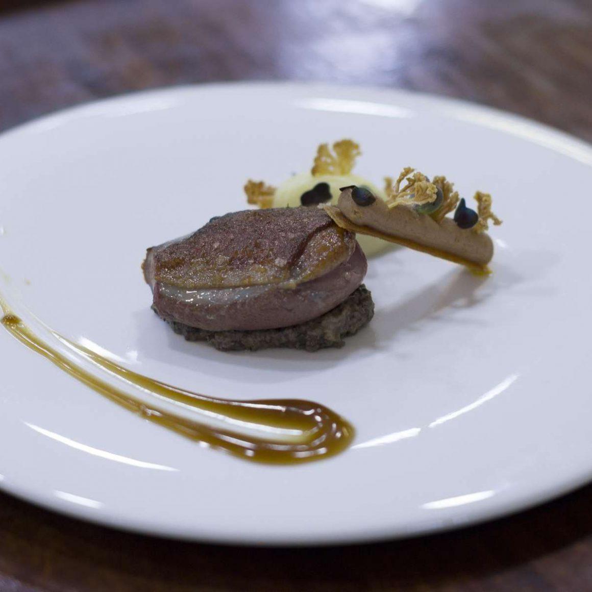 Plato del restaurante Azurmendi